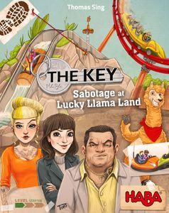 Table Top Cafe The Key: Sabotage at Lucky Llama Land