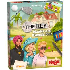 Table Top Cafe The Key: Murder at the Oakdale Club