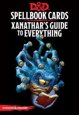 Table Top Cafe D&D Spellbook Cards Xanathar's Guide