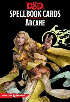 Table Top Cafe D&D Spellbook Cards: Arcane