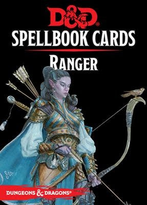 Table Top Cafe D&D Spellbook Cards: Ranger