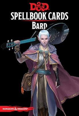 Table Top Cafe D&D Spellbook Cards: Bard