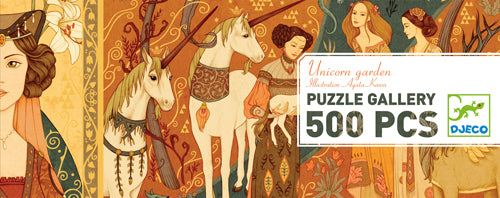 Table Top Cafe Puzzle: 500 Unicorn Garden
