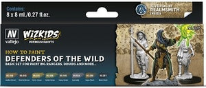 Table Top Cafe Vallejo: Wizkids Premium Paint Set Defenders of the Realm