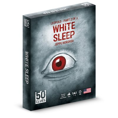 Table Top Cafe 50 Clues: White Sleep