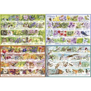 Table Top Cafe Puzzle: 2000 Woodland Seasons
