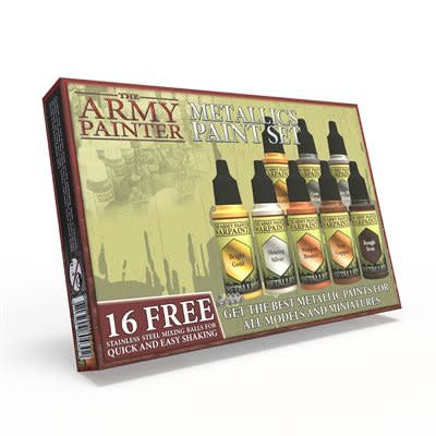 Table Top Cafe Army Painter: Metallics Paint Set