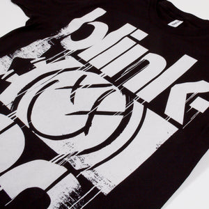blink-182 3 Bars Tee Black