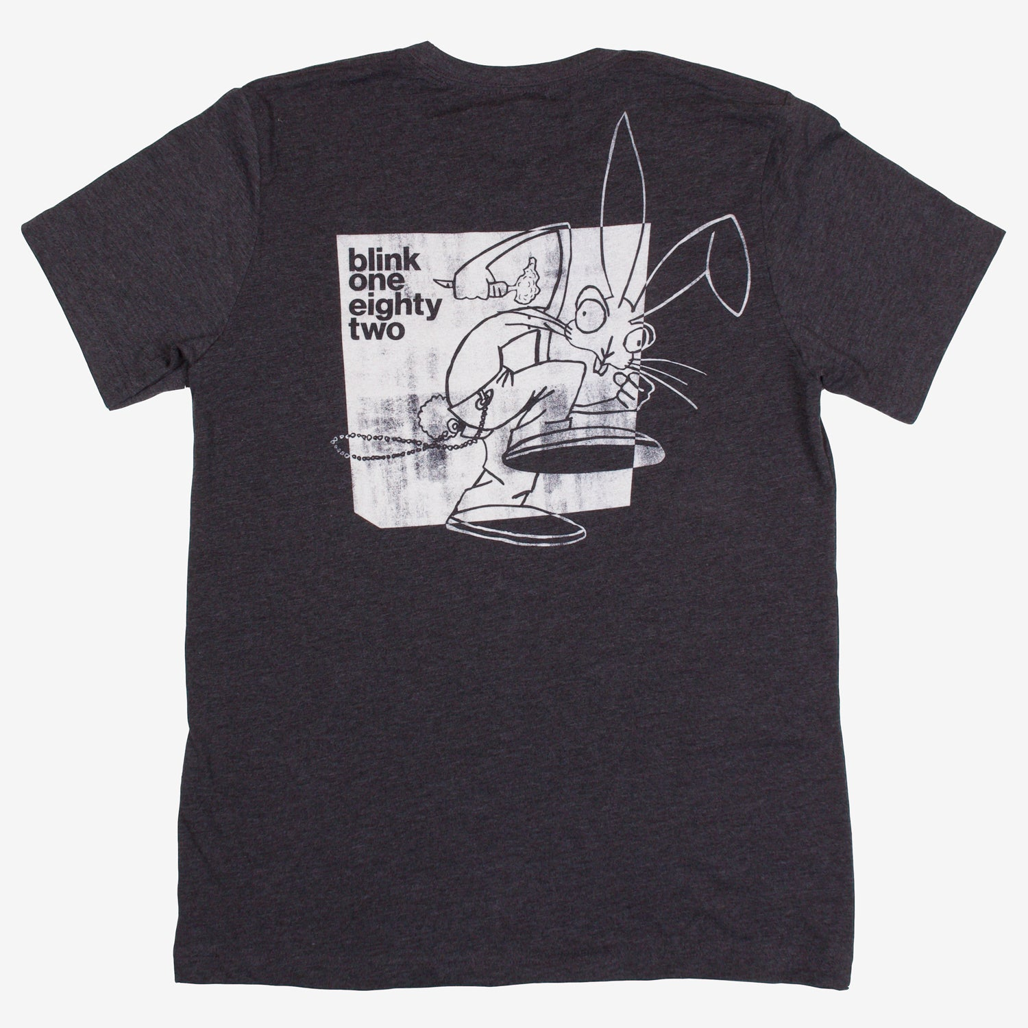 blink-182 Bunny Shape Pocket Tee Deep Grey Heather