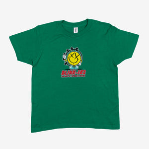 blink182 Industries Kids Tee Kelly Green