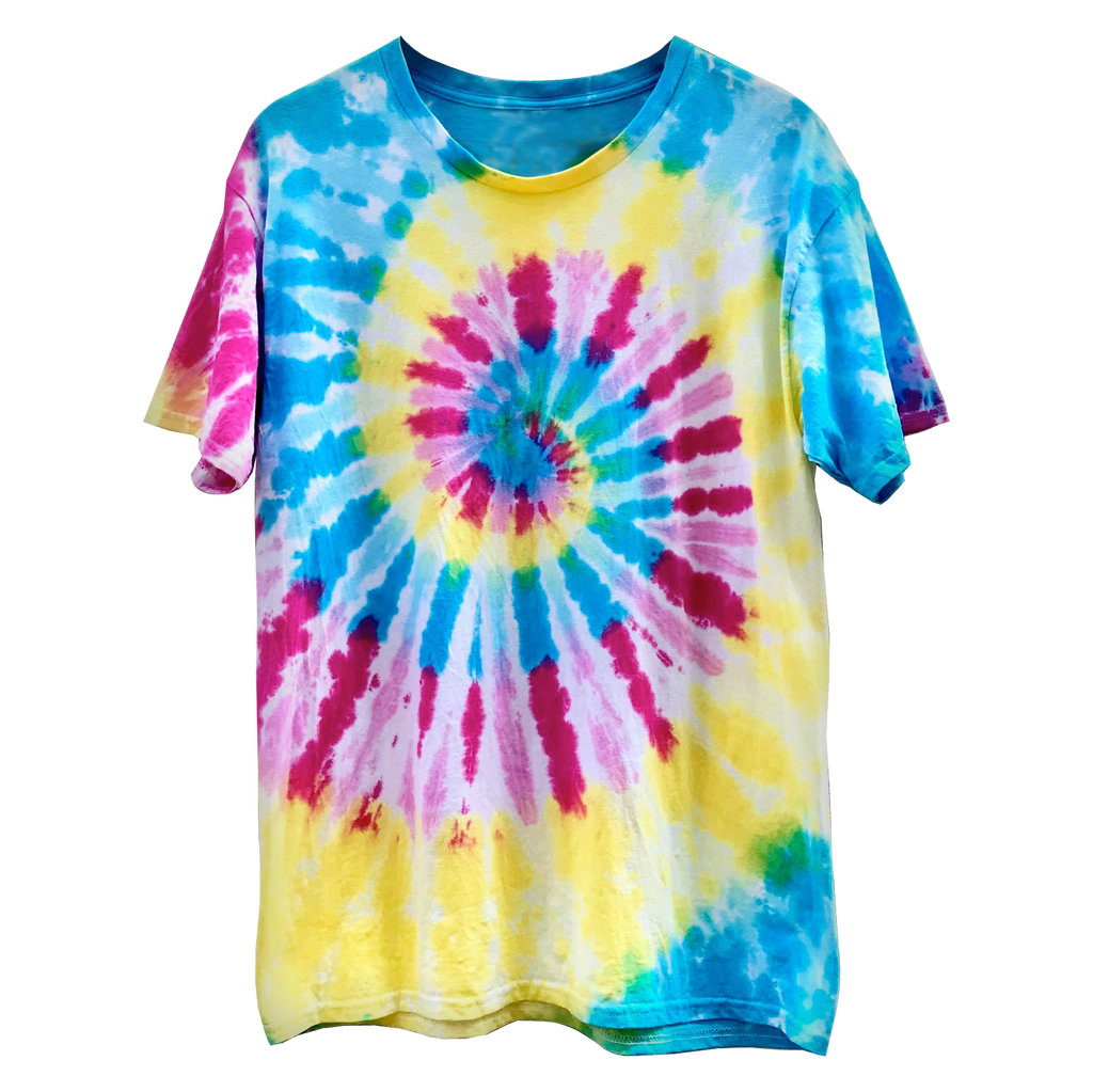 Ripple Rainbow Tie Dye Shirt