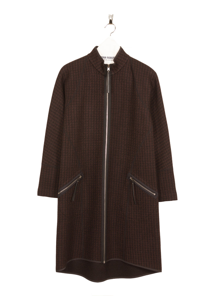 Corbett Coat Wine Front