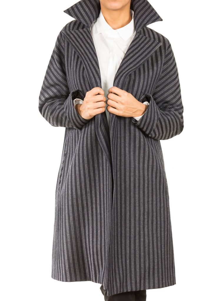 Adalyn Striped Coat Front 2