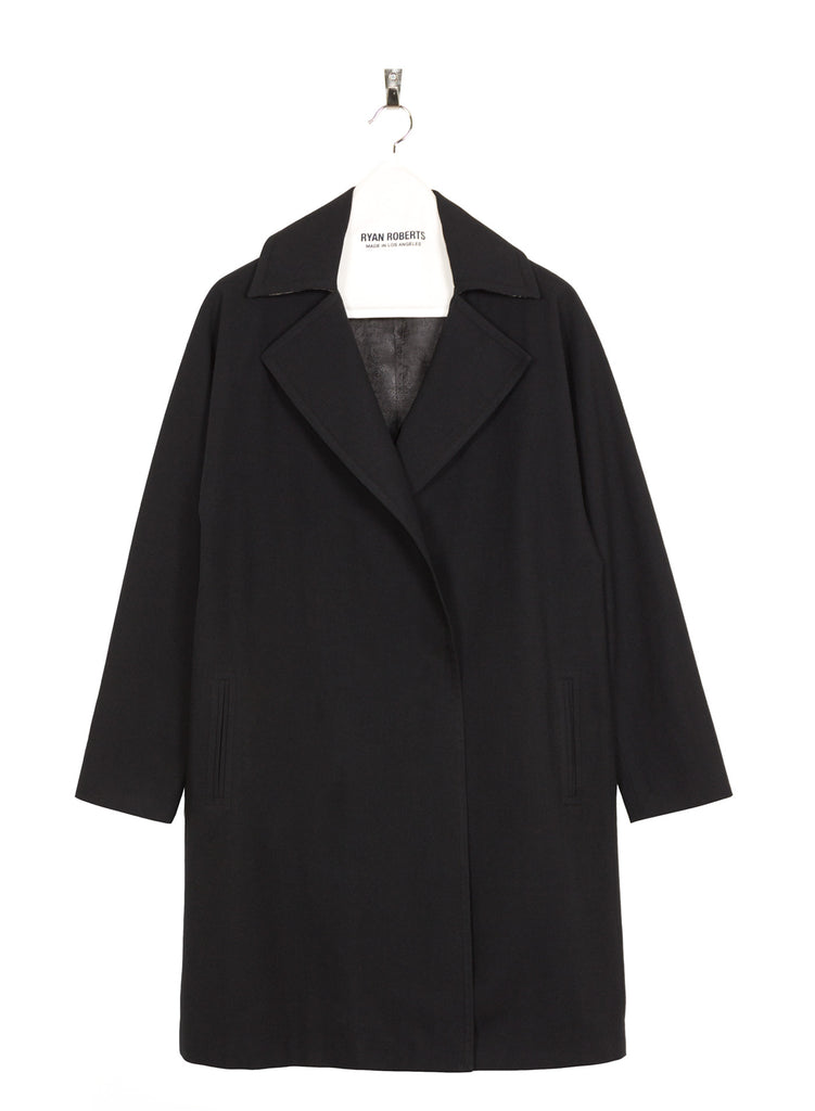 Adalyn Linen Coat Front