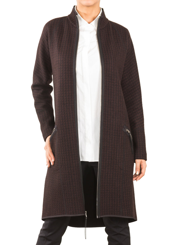 Corbett Coat Wine Front 2