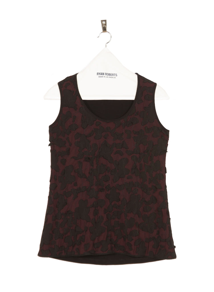 Jersey Embroidered Tank