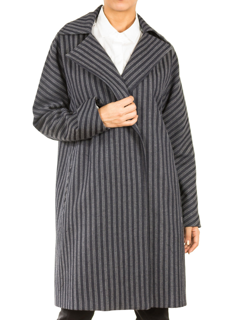 Adalyn Striped Coat
