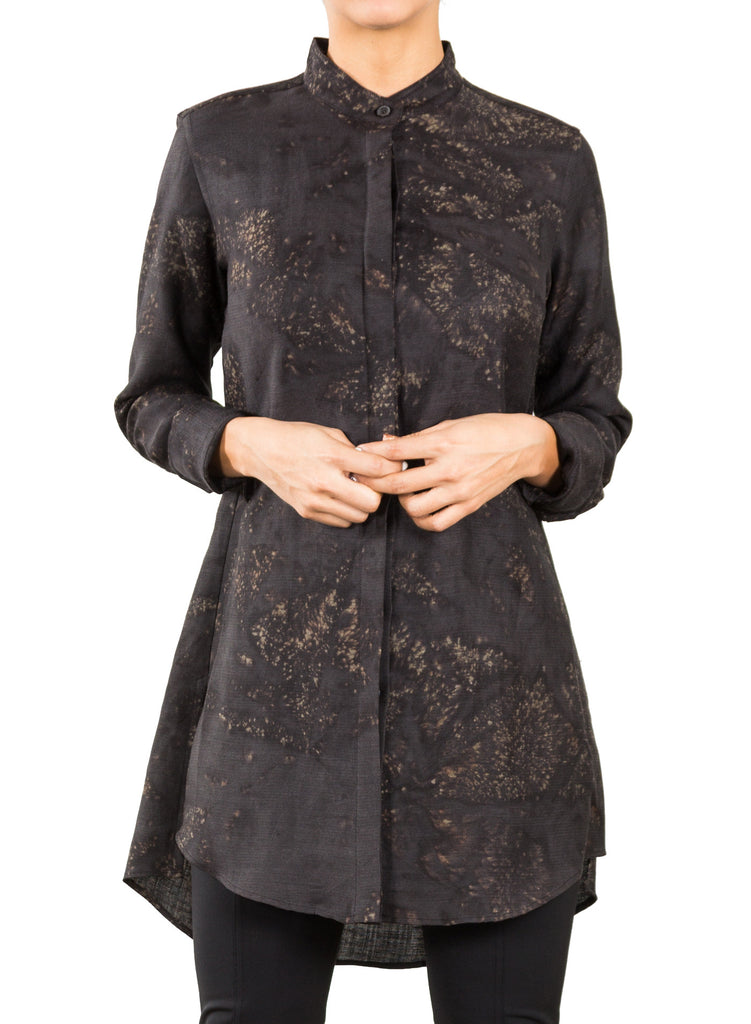 Wool Brush Stroke Tunic