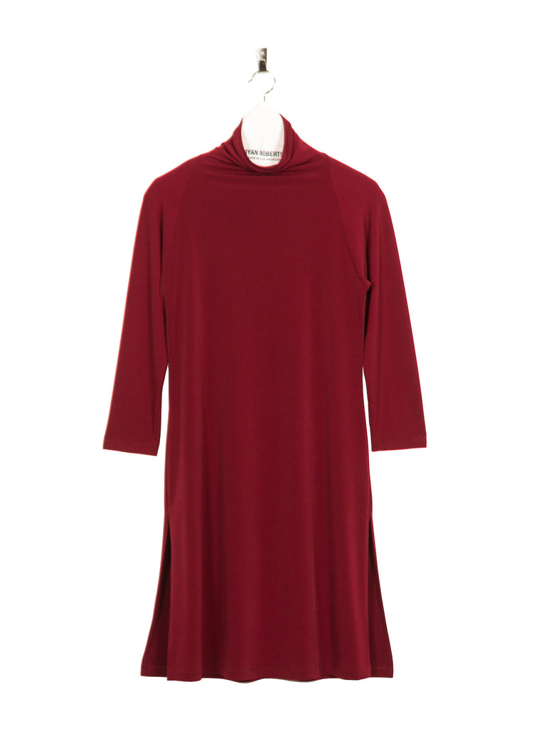 Jersey Margot Tunic - Wine
