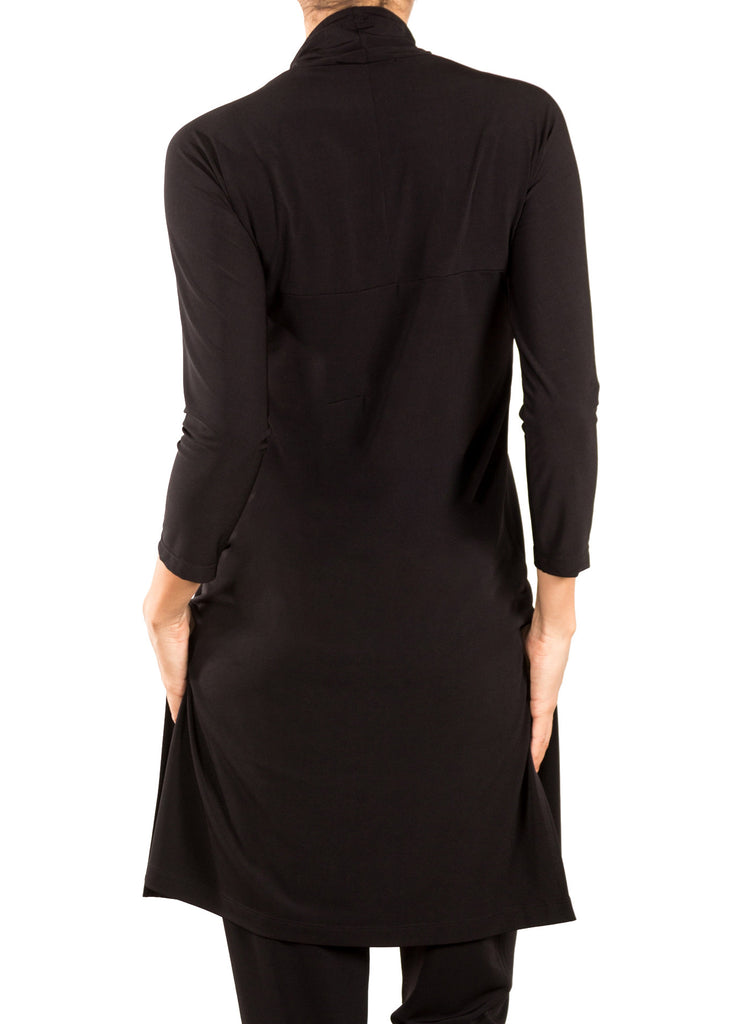 Jersey Margot Tunic - Black