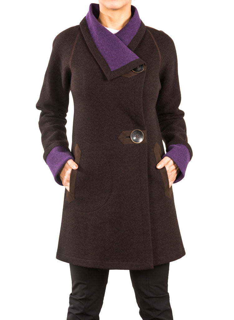 Wool Kerry Coat