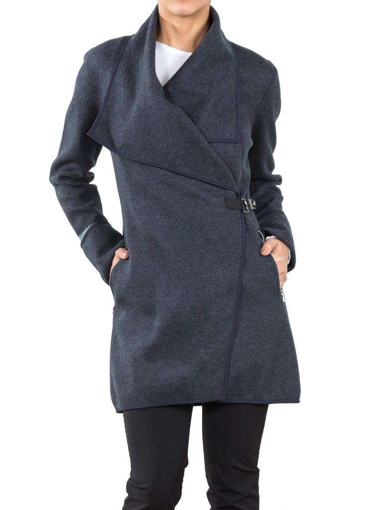 Wool Reese Coat - Mineral