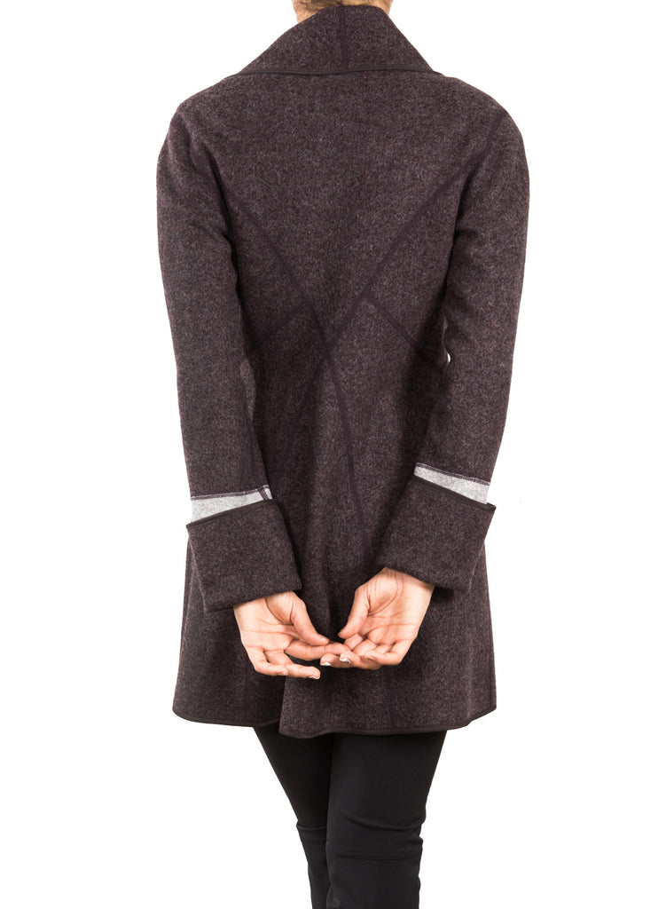 Wool Reese Coat - Mocha