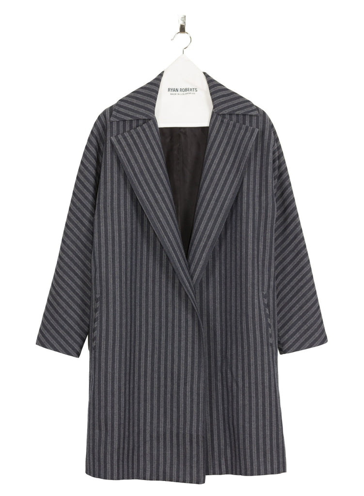 Adalyn Striped Coat Front