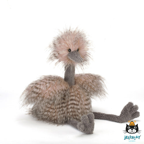 jellycat odette ostrich real big ODE1RBO