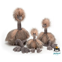 Afbeelding in Gallery-weergave laden, jellycat odette ostrich real big ODE1RBO