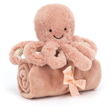 Afbeelding in Gallery-weergave laden, jellycat odell octopus soother OD4S