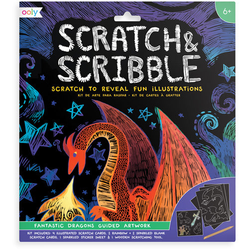 ooly - csratch & scribble ''fantastic dragons'' 02.161-026