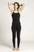 Long Cotton Yoga Jumpsuit