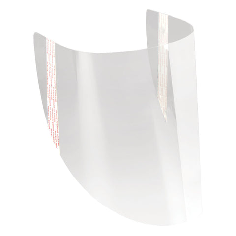 3M Replacement Face Shield Cover, Case/10 (Replacement Hoods Sold Separately)
