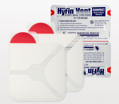 HyFin Vent Compact Chest Seal – Twin Pack