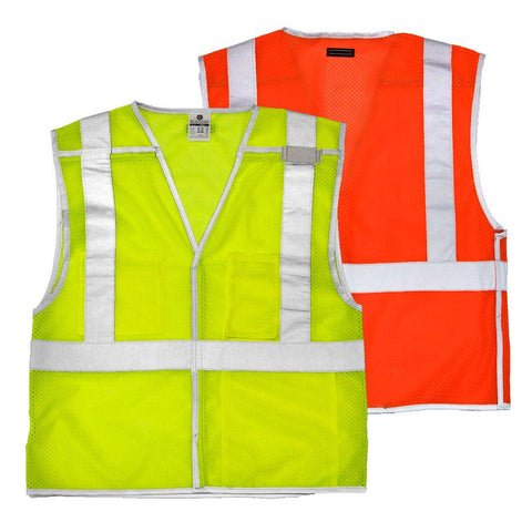 BRILLIANT SERIES Breakaway Safety Vest, ANSI/Class 2