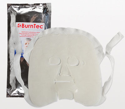 BurnTec Burn Dressing Facial Mask, 12 in. x 16 in.