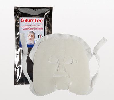 BurnTec Burn Dressing Facial Mask, 10 in. x 10 in.