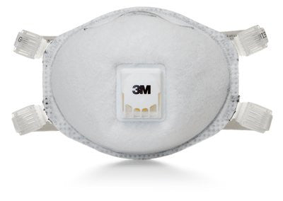 3M N95 Particulate Respirator 8514, with Nuisance Level Organic Vapor Relief, Case/80