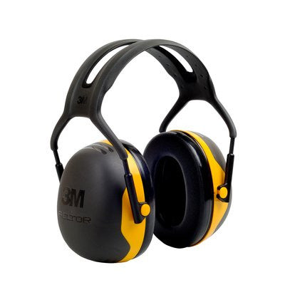 3M Peltor Over-the-Head Earmuffs X2A, 24 dB NRR, Case/10