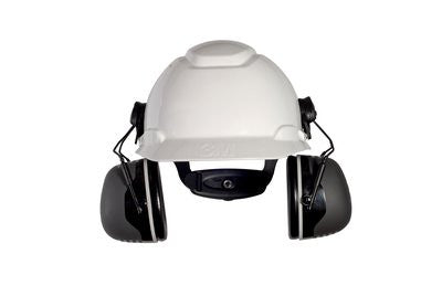 3M Peltor Cap-Mounted Earmuffs X5P3E, 31 dB NRR, Case/10