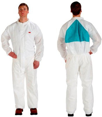 3M Disposable Protective Coverall Safety Work Wear, Case/25