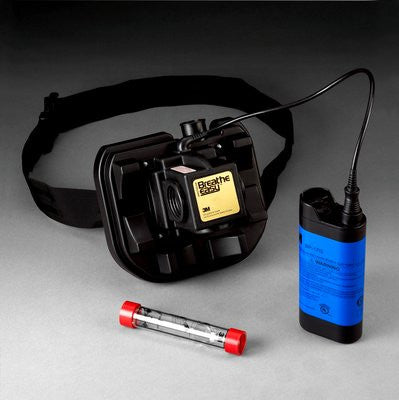 3M Breathe Easy Turbo Belt-Mounted Intrinsically Safe PAPR Assembly with NiCd Battery