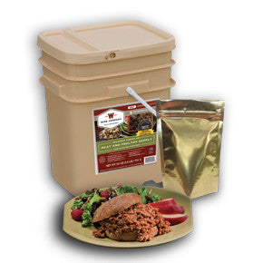 60 Serving Emergency Gourmet Freeze Dried Meat