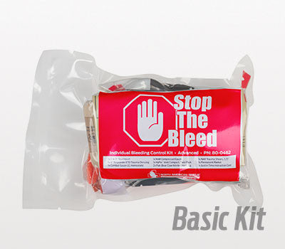 Individual Bleeding Control Kit – Vacuum Sealed