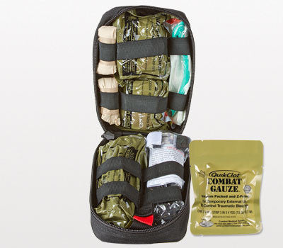 Tactical Operator Response Kit with Combat Gauze
