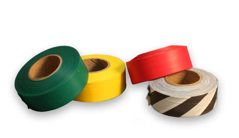 Triage Tape 4-Pack (Red, Yellow, Green, Black)