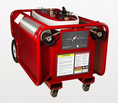 NitroStrike 60 Gallon Portable Fire Suppression System