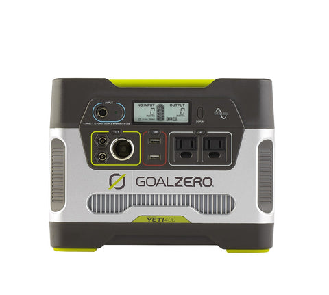 Goal Zero Yeti 400-Watt Solar Generator With Built-in Inverter