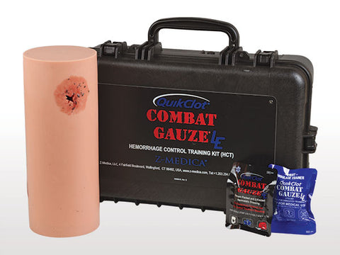 Hemorrhage Control Training Kit - Combat Gauze